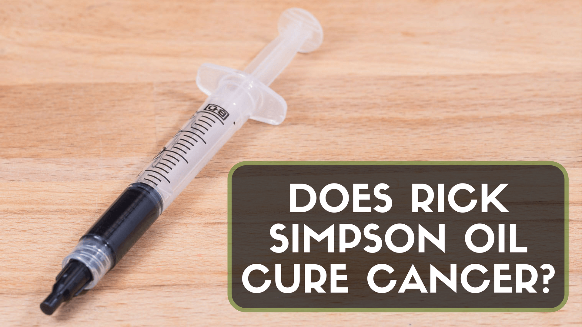 STUDIES THAT SHOW CBD OIL LIKE SIMPSON OIL CAN EFFECTIVELY TREAT CANCER